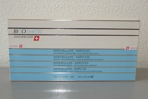 Bicosmetic Cellulite Treatment Ampoules